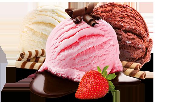 sorvete gela